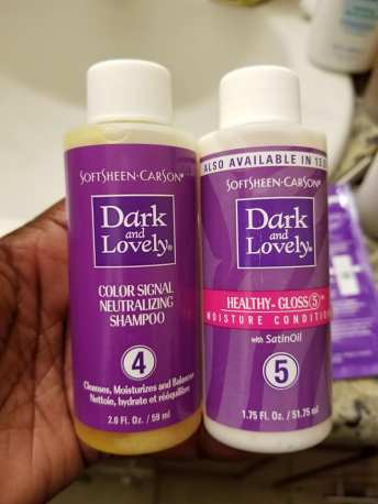 Dark&Lovely-Shampoo and Conditioner